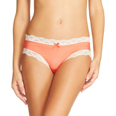 Women's Mesh Hipster Orange S - Gilligan & O'Malley™
