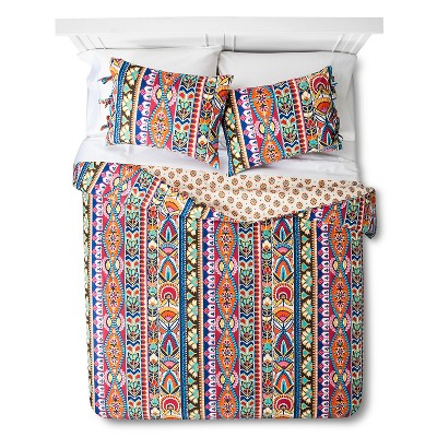 Mudhut™ Talavera Duvet Set - Multi-Colored (King)