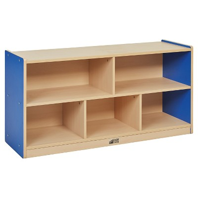 "ECR4Kids 5 Compartment Storage Cabinet 24"" - Blue"