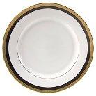 10 Strawberry Street Sahara Black Charger Plate Set of 4