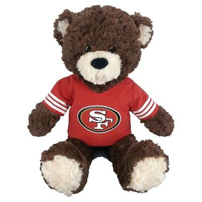 "NFL San Francisco 49Ers Bear - Multi-Colored (14""x17"")"