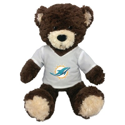 "NFL Miami Dolphins Bear - Multi-Colored (14""x17"")"