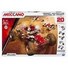 Meccano Desert Adventure Set, 20 Model Set