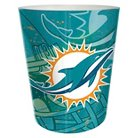 """NFL Miami Dolphins Wastebasket - Multi-Colored (9.4""""x7.8"""")"""