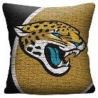 "NFL Jacksonville Jaguars Woven Pillow - Multi-Colored (20""x20"")"