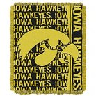 "NCAA Iowa Jacquard Throw - Multi-Colored (48""x60"")"