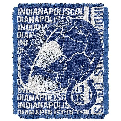 "NFL Indianapolis Colts Jacquard Throw - Multi-Colored (48""x60"")"