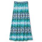 Girls' Lots of Love Stripe Maxi Skirt - L Navy Jade