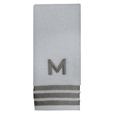Modern Monogram Hand Towel M - Threshold™