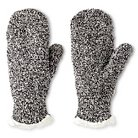 Impressions By Isotoner® Women's Marble Mittens - Black