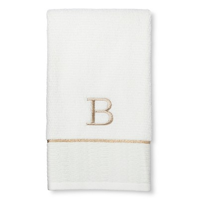 Classic Monogram Hand Towel B