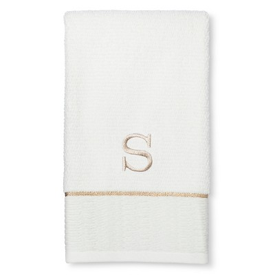 Classic Monogram Hand Towel S - Threshold™