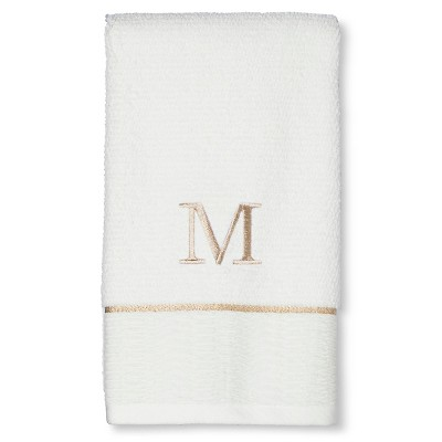 Classic Monogram Hand Towel M - Threshold™