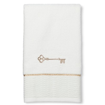 Classic Monogram Hand Towel Key - Threshold™