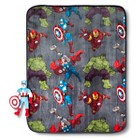 """Marvel Avengers Pillow and Throw Set 40x50"""""""