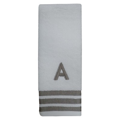 Modern Monogram Hand Towel A  - Threshold™