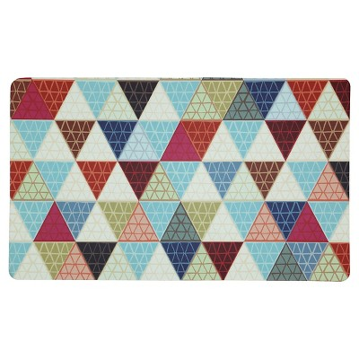 "Mohawk Triangle Revisit Kitchen Rug - 18""x30"""