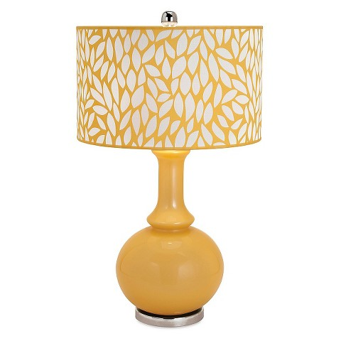 aurora table lamp yellow target. Black Bedroom Furniture Sets. Home Design Ideas
