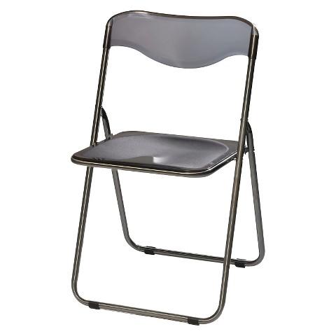 Sudden fort Translucent Folding Chair Charc Tar
