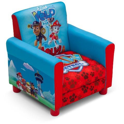 Delta children 39 s upholstered chair paw patrol target for Kids upholstered chair