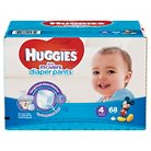 Huggies Little Movers Diaper Pants for Boys Size 4 (68 Count)