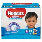 Huggies Little Movers Diaper Pants for Boys Size 5 (60 Count)