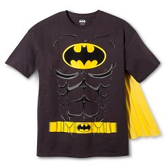 Men's Batman Logo With Muscles T-Shirt