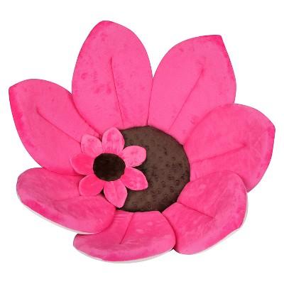 Blooming Bath & Mini Bloom Scrubbie - Hot Pink