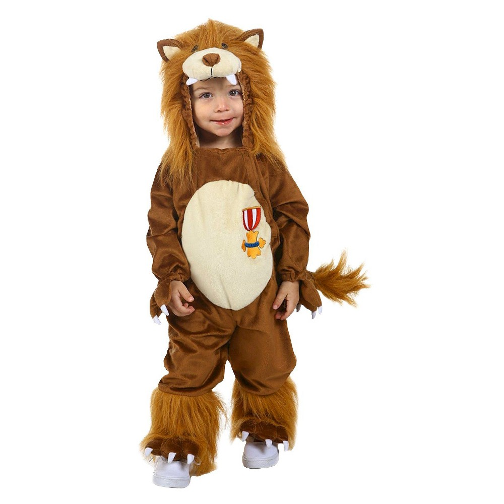 Boys' The Wizard of Oz Cowardly Lion Toddler Costume - 12-18 M