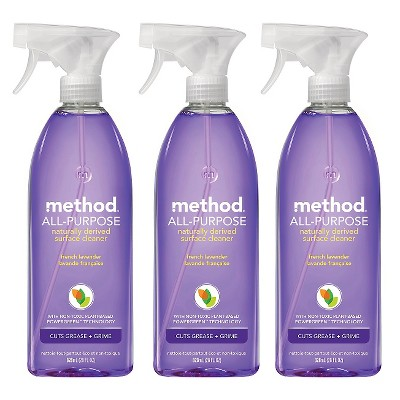 Method Lavender All Purpose Cleaner 28 oz - 3 pack ECOM