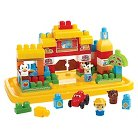 Mega Bloks First Builders Farm Tub