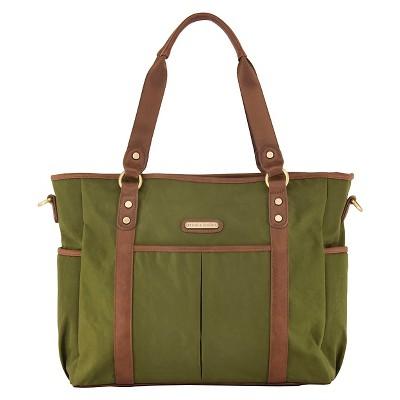 timi & leslie Classic Tote Diaper Bag - Serengeti Green