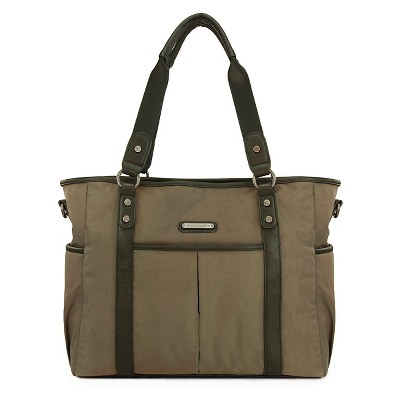 timi & leslie Classic Tote Diaper Bag - London Gray