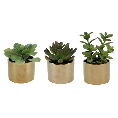 Artificial Potted Succulent (one item only) - Threshold™
