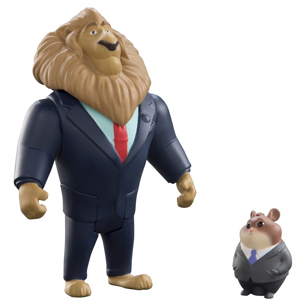Zootopia Character Pack, Mayor Lionheart and Lemming Businessman