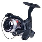 Gone Fishing Youth Spinning Reel With Fishing Line - Black