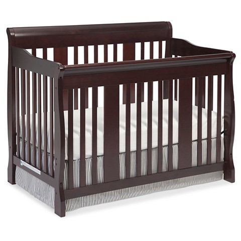 stork craft tuscany 4 in 1 convertible crib target. Black Bedroom Furniture Sets. Home Design Ideas