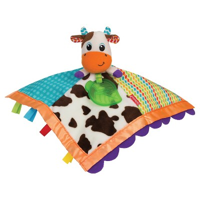 Infantino Topsy Turvy Soft & Snuggly Lovie Pal - Cow