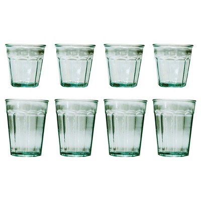 San Miguel 8pc Recycled Glass Tumblers