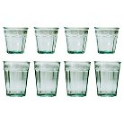 San Miguel 8-pc. Recycled Glass Tumblers