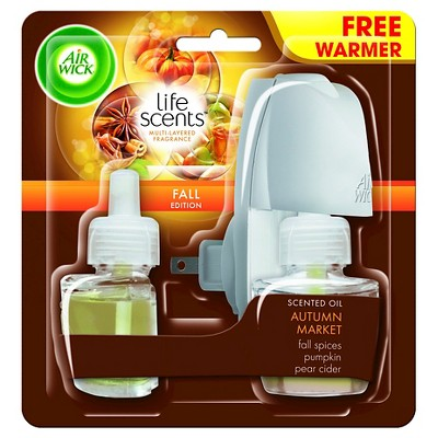 Airwick Scented Oil Life Scents Autumn Market Kit 1.34floz 9.280