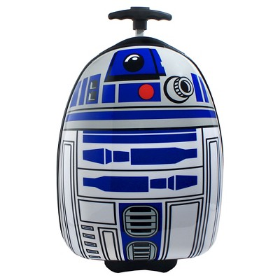 "Disney Star Wars R2D2 16"" Rolling Hardshell Carry On Luggage"