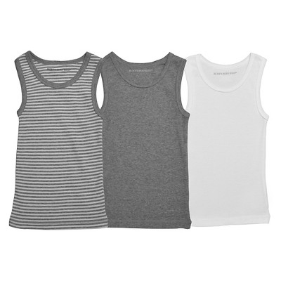 Burt's Bees Baby Toddler Boys' Tanks - Multi-Colored 4T/5T