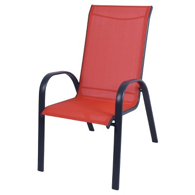 Stack Sling Patio Chair Coral - Room Essentials™