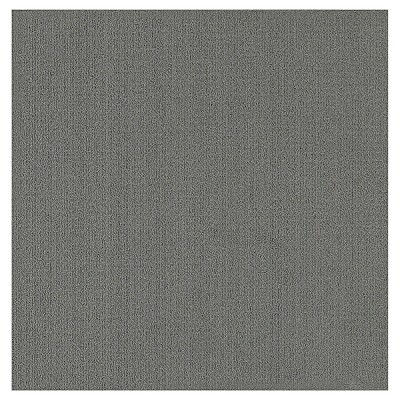 Squared Carpet Tiles Box of 6 - Summit Gray (2'x2')