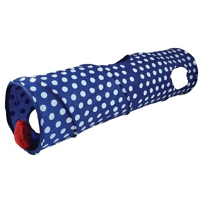 Pet Tunnel Pet Zone Polyester Blue