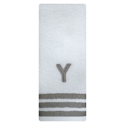 Modern Hand Towel Monogram Y - Threshold™