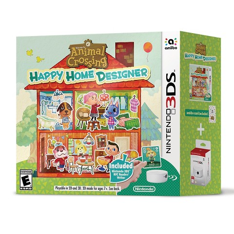 Animal crossing happy home designer bundle nin target - Animal crossing happy home designer bundle ...