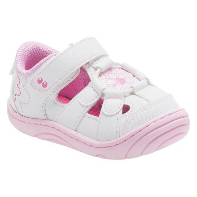 Infant Girls' Surprize by Stride Rite Alexia Fisherman Sandals - White 2