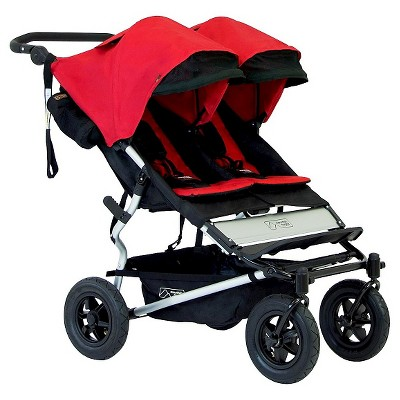Mountain Buggy Duet Double Stroller - Chili